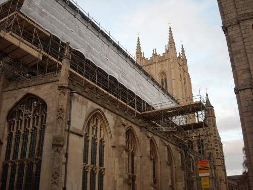 Recent Roofing Work St Edmundsbury Cathedral